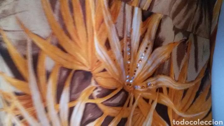 Vintage: Blusa fiesta naranja - Foto 3 - 98606016