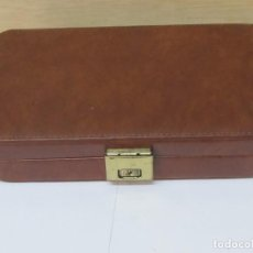 Vintage: ELEGANTE MALETÍN DE PIEL. Lote 98633067