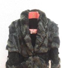Vintage - abrigo piel - 98643883