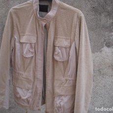 Vintage: EXCELENTE CHAQUETA GOES DE PIEL, SIN ESTRENAR. Lote 98648483