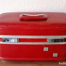 Vintage: NECESER VIAJE MALETA ROJA, TAURO, VINTAGE, MALETIN. Lote 99061039