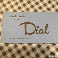Vintage: MEDIAS NYLON DIAL, GALERIAS PRECIADOS,. Lote 101329239