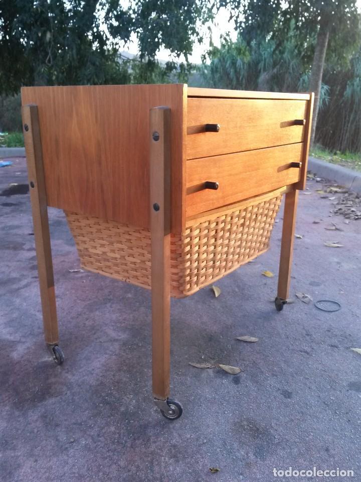 enorme costurero danés vintage años 50 60 muebl - Comprar Moda ...