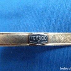 Vintage: PISACORBATAS DE TEXACO. (4,5 CM DE LARGO). Lote 101842943