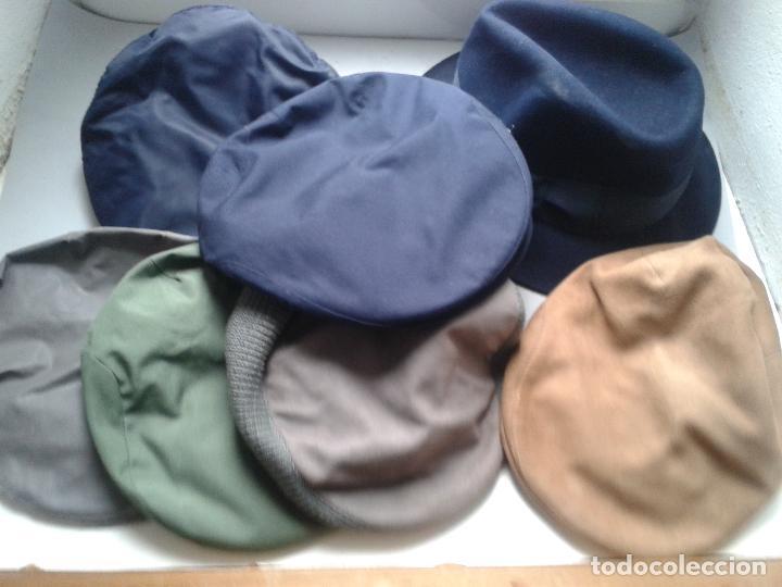 lote de 6 gorras o viseras + sombrero fieltro v - Comprar ... 2eac7db0d84