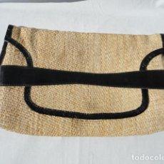 Vintage: BONITO BOLSO VINTAGE TELA DE PAJA. AÑOS 70.. Lote 103079835