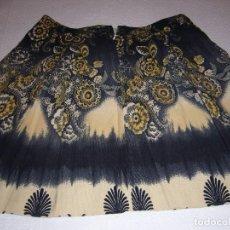Vintage: FALDA TERCIOPELO NUEVA-CALIDAD-NAVIDAD-FIESTA-TALLA 44 HACIA ABAJO. Lote 104088707