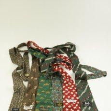 Vintage: CORBATAS LOEWE, VALENTINO, FENDI, PIERRE CARDIN. Lote 104146483
