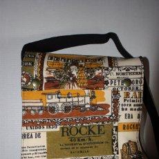 Vintage: BOLSA-CARTERA ESCOLAR, AÑOS 70. Lote 104713303