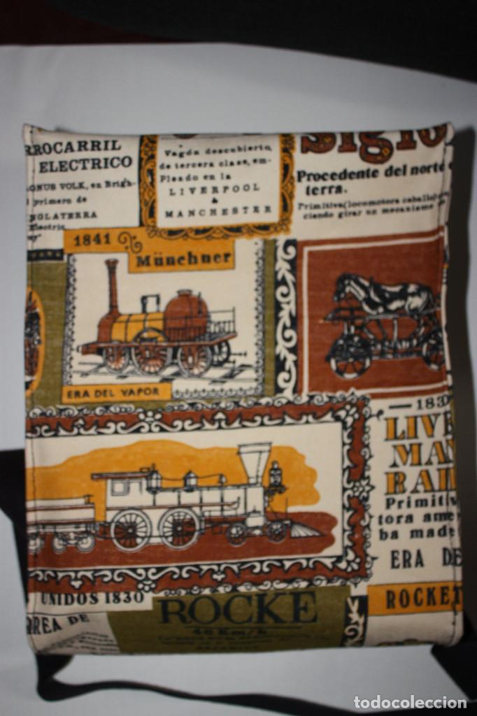 Vintage: Bolsa-cartera escolar, años 70 - Foto 2 - 104713303