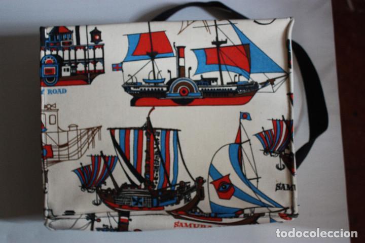 Vintage: Bolsa-cartera escolar, años 70 - Foto 2 - 104715871
