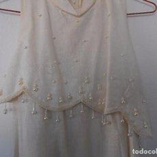 Vintage: VESTIDO DE NIÑA PARA CEREMONIA. Lote 105109631