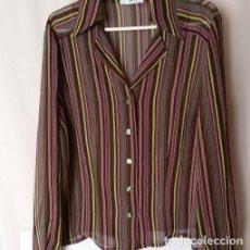 Vintage: CAMISA GASA RAYAS. Lote 105710567