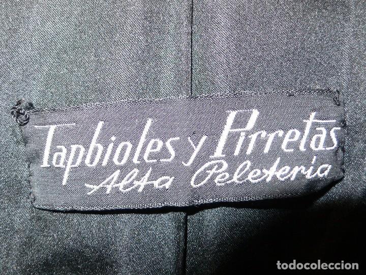 Vintage: ABRIGO ASTRACAN NEGRO AUTÉNTICO - Foto 14 - 107579719