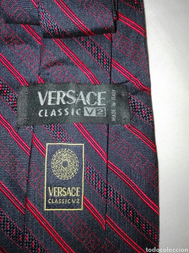 Vintage: Lote corbatas seda natural. LANVIN, ARMANI, VERSACE, CELINE, FERRAGAMO, BURBERRYS, SIR BONSER. - Foto 3 - 108050298