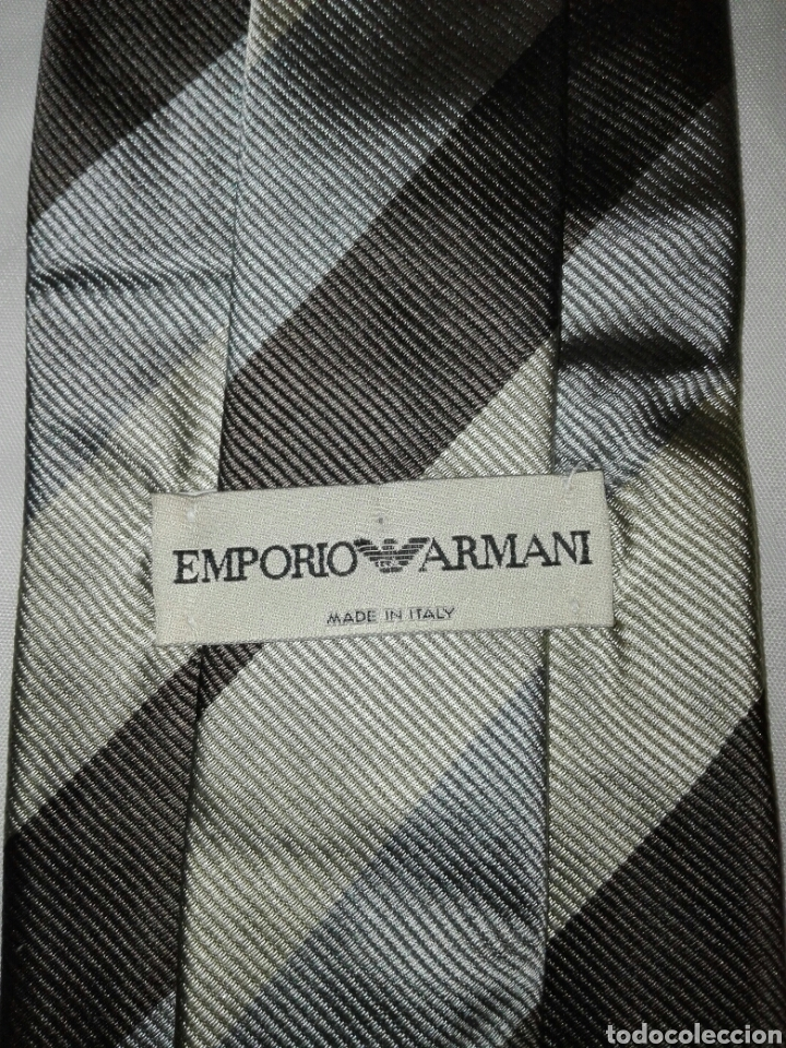 Vintage: Lote corbatas seda natural. LANVIN, ARMANI, VERSACE, CELINE, FERRAGAMO, BURBERRYS, SIR BONSER. - Foto 4 - 108050298