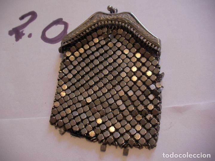 ANTIGUO MONEDERO METALICO (Vintage - Moda - Complementos)