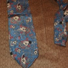 Vintage: CORBATA MICKEY MOUSE,WALT DINSEY,THE TIE WORKS,L A U.S.A.. Lote 110425391