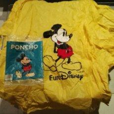 Vintage: IMPERMEABLE PONCHO EURODISNEY MICKEY MOUSE AÑOS 90. Lote 110756048