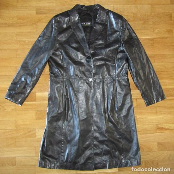 F Piel 44 Talla Moda Señora Abrigo De Comprar Cuero Muy wZvUv60q