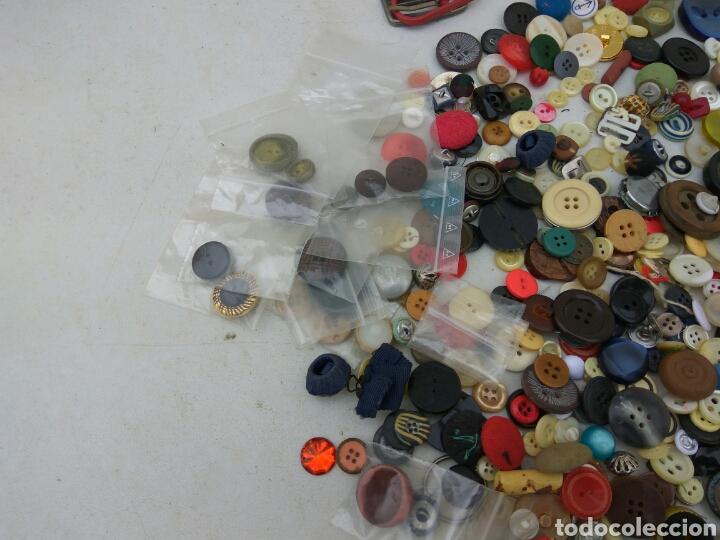 Vintage: BOTONES HEBILLAS GRAN LOTE ANTIGUOS - Foto 2 - 114014535