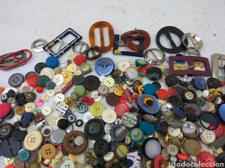 Vintage: BOTONES HEBILLAS GRAN LOTE ANTIGUOS - Foto 4 - 114014535