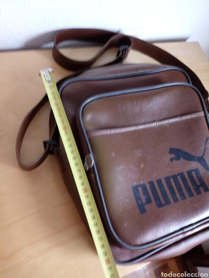 Vintage: Bolso de hombre bandolera. Puma - Foto 3 - 114620495