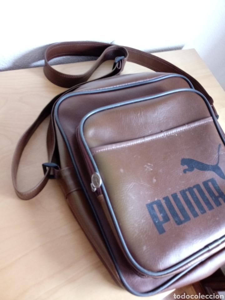 Vintage: Bolso de hombre bandolera. Puma - Foto 4 - 114620495