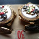 Vintage: JUEGO DE GEMELOS TAURINO - TOLEDANO. Lote 114866396