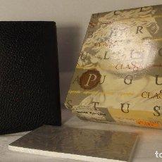 Vintage: AGENDA INTEGRAL MINI CUERO FINOCAM. Lote 115302751