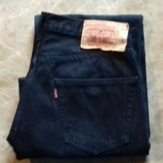 Vintage: LEVI STRAUSS MENS JEANS BLACK SIZE - W32 - L 30 - IN A GOOD CONDITION. Lote 115310572
