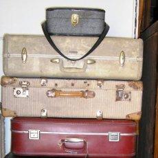 Vintage: LOTE DE 7 MALETAS.. Lote 115415319