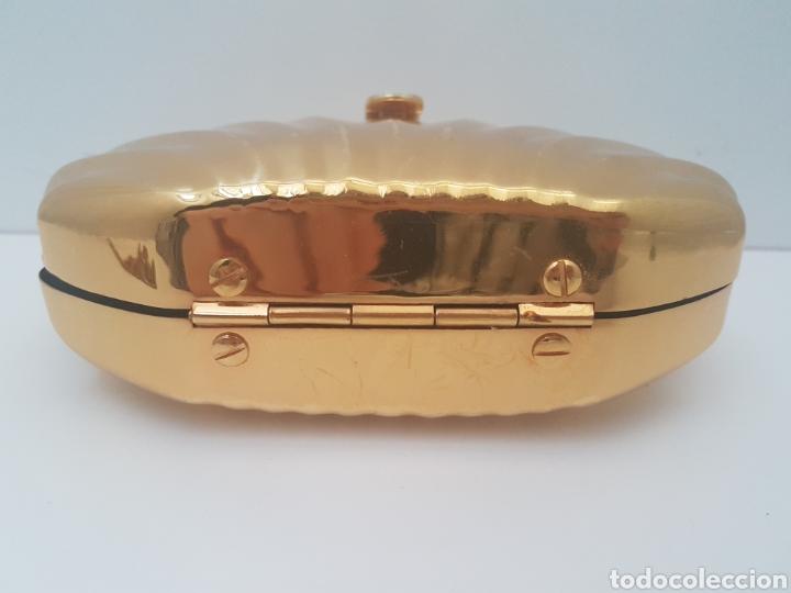 Vintage: Bolso dorado rigido de fiesta - Foto 5 - 116657350