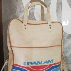 Vintage: BOLSA AEROLÍNEA PAN AM VINTAGE RETRO. Lote 116763008