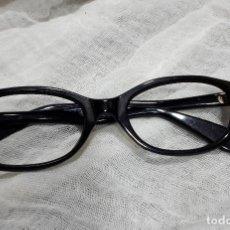 Vintage: MONTURA NEGRA OPTICA AÑOS 60. Lote 116770659