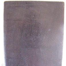 Vintage: CARTERA PIEL LAGARTO GENUINA.. Lote 116790755