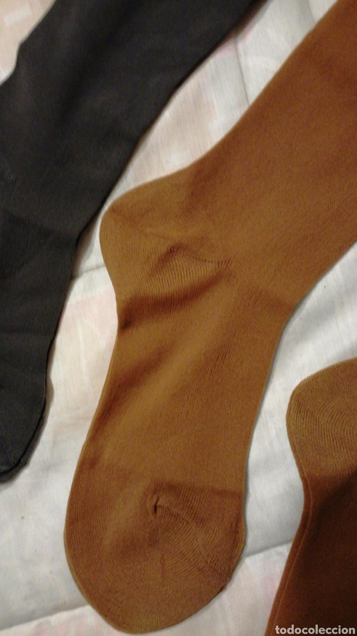 f5d2f4b627 Vintage  5 pares de medias de espuma de nylon para liguero de varios  colores sin