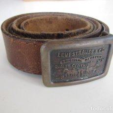 Vintage: CINTURÓN AÑOS 70 LEVI STRAUSS. MADE IN CANADA. Lote 116902059