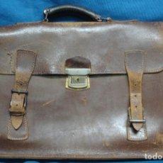 Vintage: ANTIGUA CARTERA DE CUERO. Lote 117627163