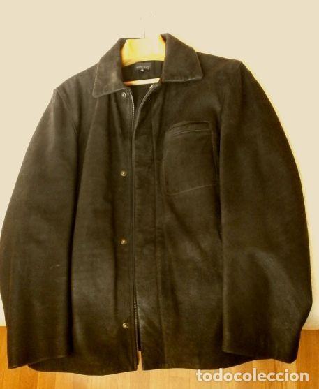 Vintage: CHAQUETON PIEL CUERO HOMBRE (SEMI NUEVO) MARCA SAND KEY (años 80) CHAQUETA TALLA 48 - calidad-abrigo - Foto 12 - 118110099
