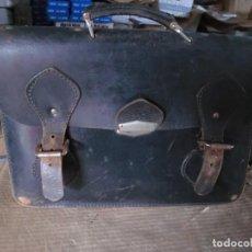 Vintage: MALETIN AÑOS 50 DE CUERO. Lote 118705127