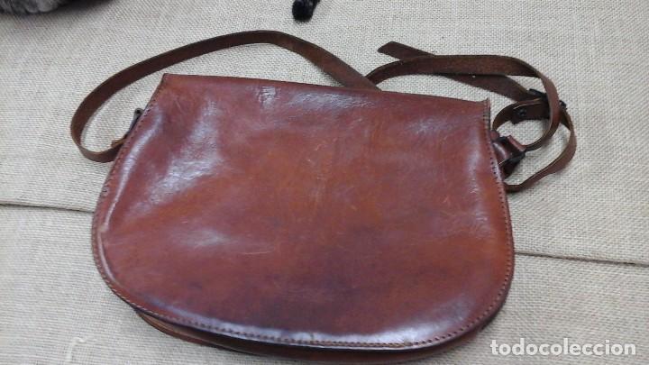 Vintage: Pareja de bolsos de piel . Años 80 - Foto 2 - 119048743