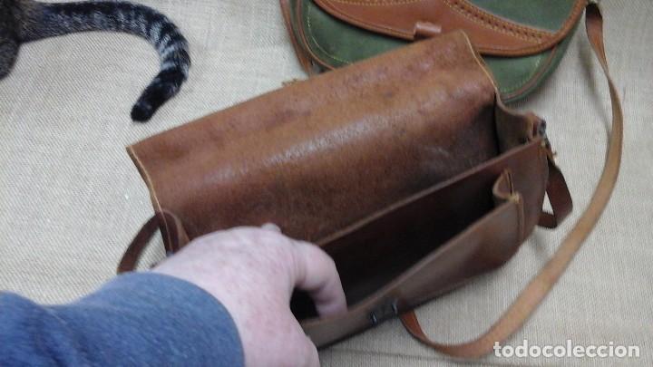 Vintage: Pareja de bolsos de piel . Años 80 - Foto 4 - 119048743