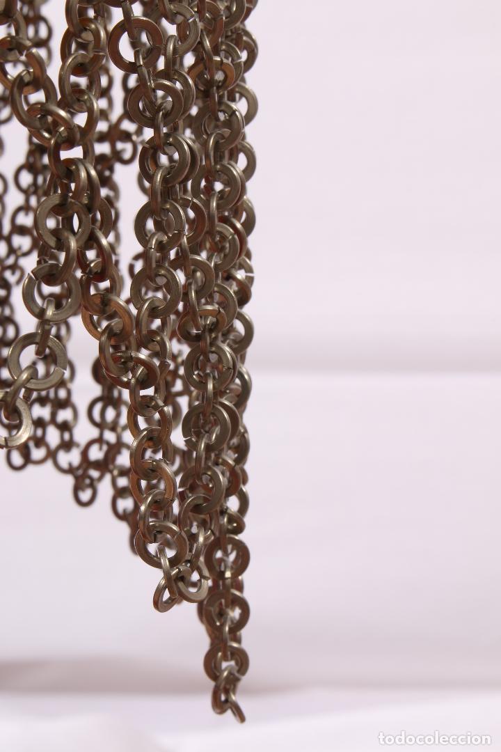 Vintage: Vestido único 100% artesanal confeccionado con pequeñas arandelas de acero. Talla 40-42 - Foto 8 - 119128103
