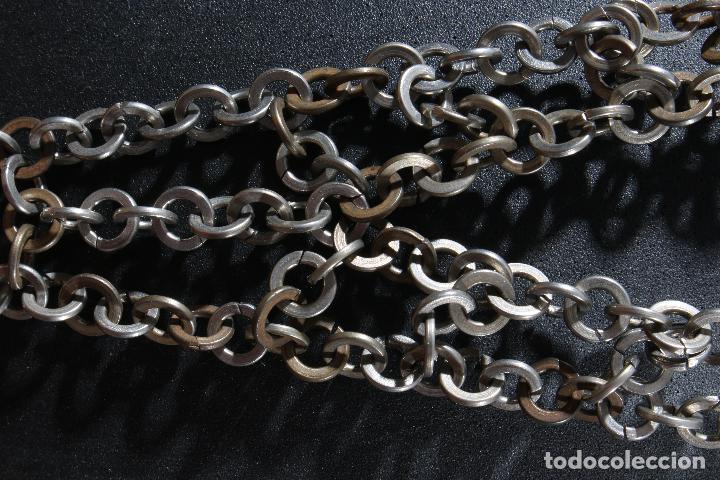 Vintage: Vestido único 100% artesanal confeccionado con pequeñas arandelas de acero. Talla 40-42 - Foto 10 - 119128103