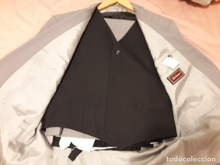 Vintage: 17-00041 traje gris - dielmar - talla 58 - Foto 4 - 119385151