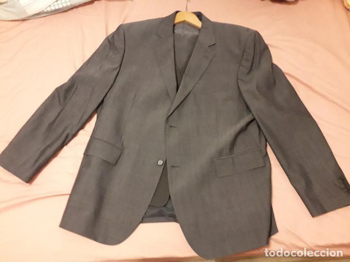17-00043 TRAJE GRIS- JOUNG MARTINO - TALLA 60 (Vintage - Moda - Hombre)