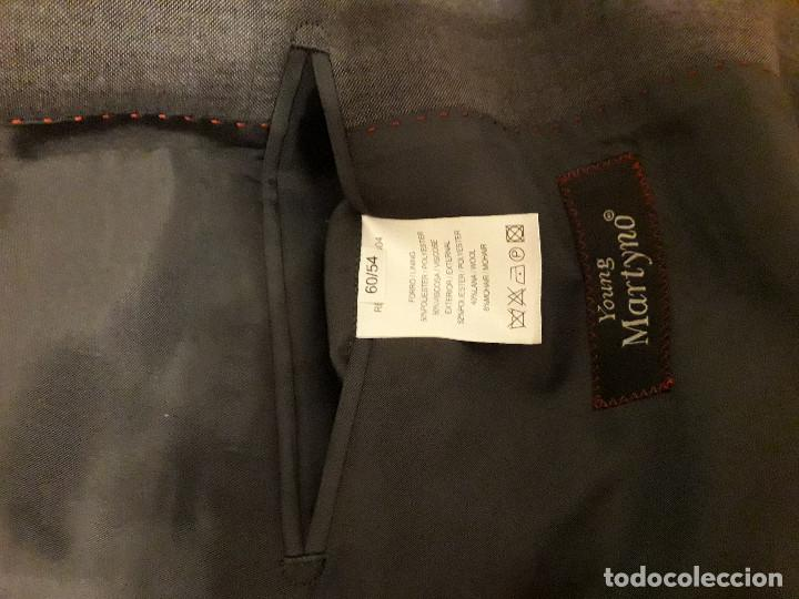 Vintage: 17-00043 traje gris- joung martino - talla 60 - Foto 2 - 119385211
