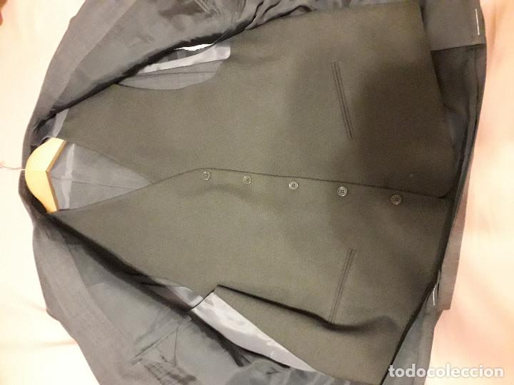 Vintage: 17-00043 traje gris- joung martino - talla 60 - Foto 3 - 119385211