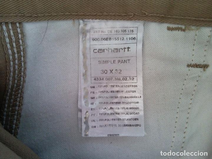 Vintage: Pantalón Carhatt - Foto 5 - 120811563